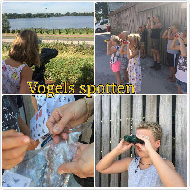 vogelexcursie  voor kinderen