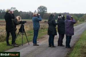 Kraanvogelexcursie deelnemers