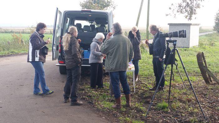 Kraanvogelexcursie Lunchen tussen de Kraanvogels.
