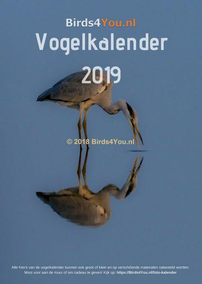 Vogelkalender Voorblad