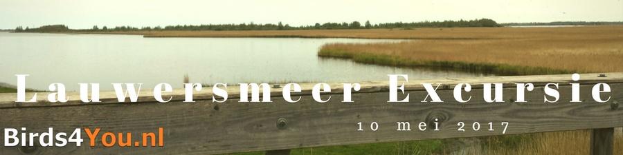 vogelexcursie Lauwersmeer 10 mei 2017