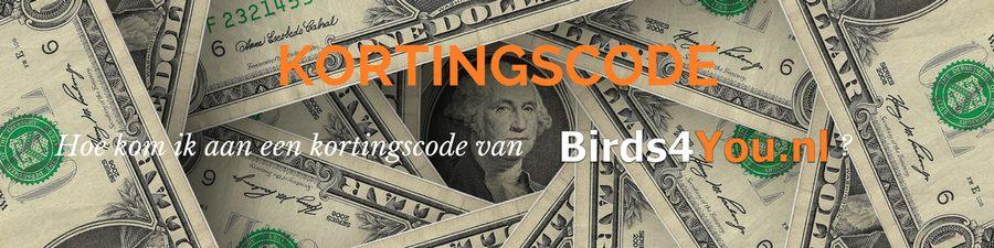 Kortingscode van Birds4You.nl