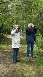 Opdrachtgevers vogelexcursie Fochteloërveen