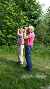 Birdwatching excursion Lauwersmeer both participants mai 2018