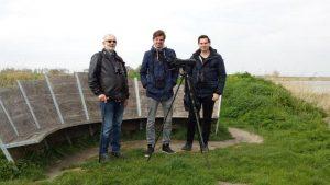 Vogelexcursie deelnemers Lauwersmeer