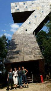 Deelnemers vogelexcursie Fochteloo voor de 7