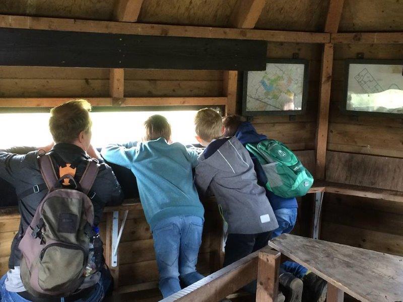 Vogelexcursie Diependal in de kijkhut