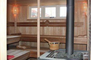 D'Olle pastorie Sauna