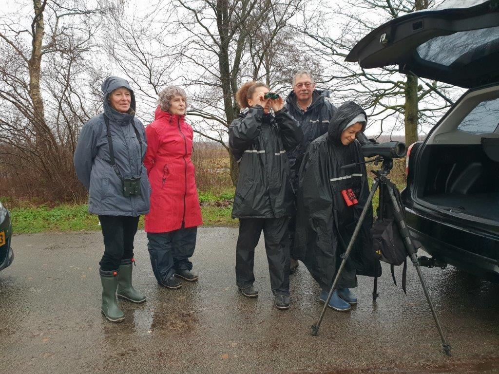 Vogelexcursie Fochteloërveen December Deelnemers