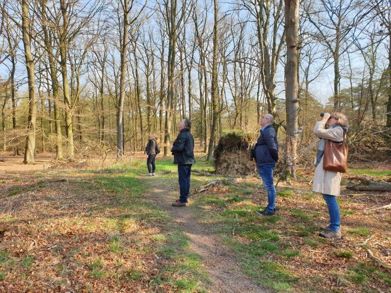 Vogelexcursie Drents-Friese Wold Deelnemers