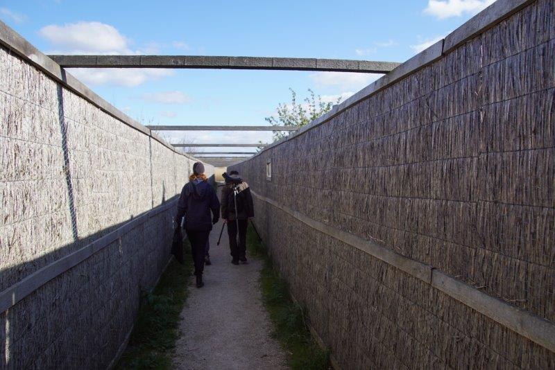 Vogelkijkhut Jaap Deensgat ingang (foto door deelnemer)