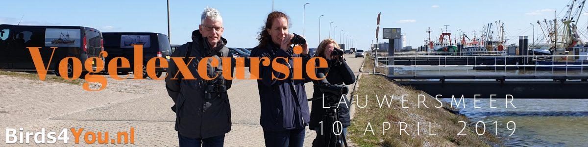vogelexcursie Lauwersmeer 10-04-2019