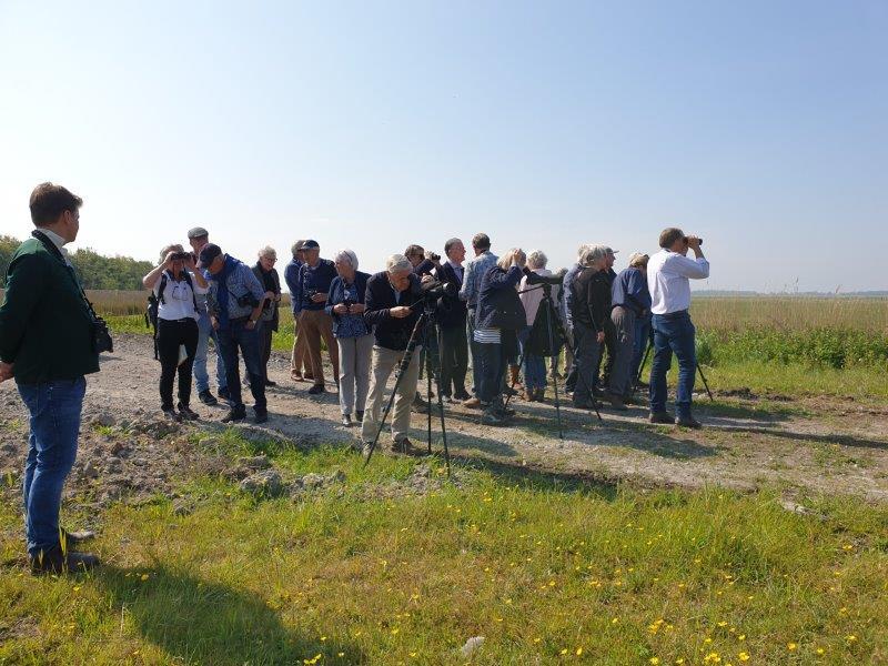 Groep deelnemers Lauwersmeer