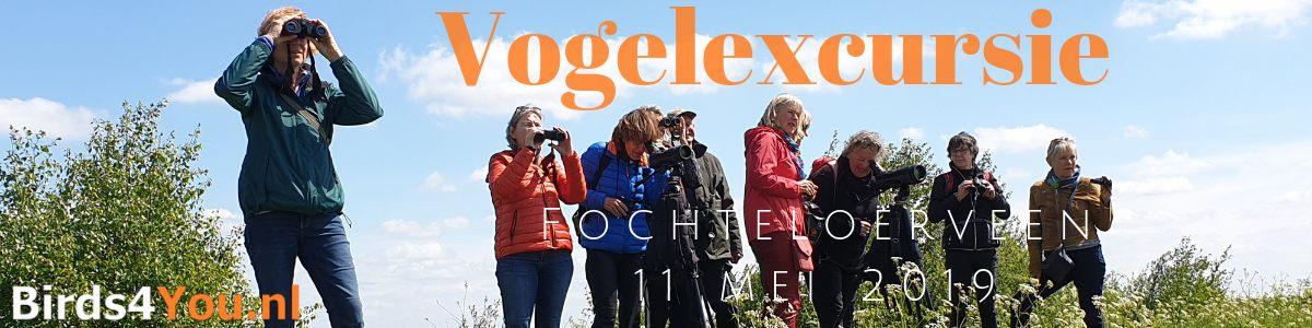 Vogelexcursie Fochteloërveen 11 mei 2019