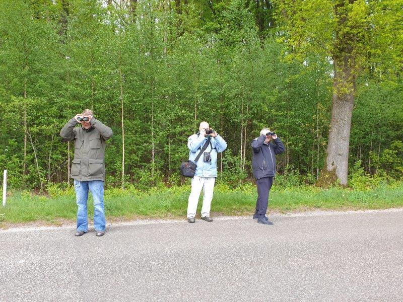 Vogelexcursie Fochteloërveen de Deelnemers