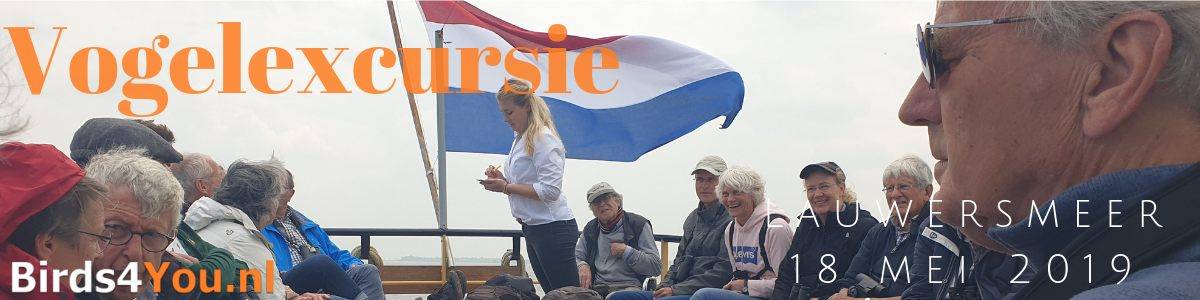 Vogelexcursie Lauwersmeer 18 mei 2019