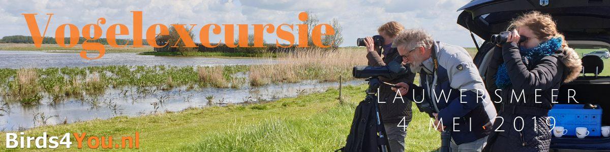Vogelexcursie Lauwersmeer 4 mei 2019