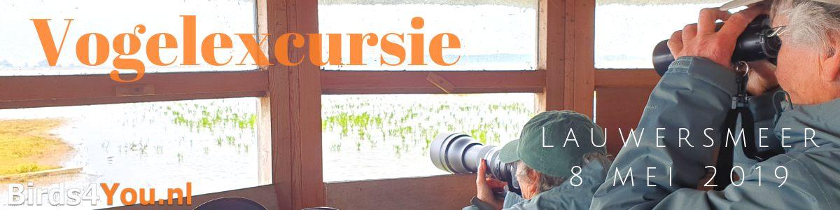 Vogelexcursie Lauwersmeer 8 mei 2019
