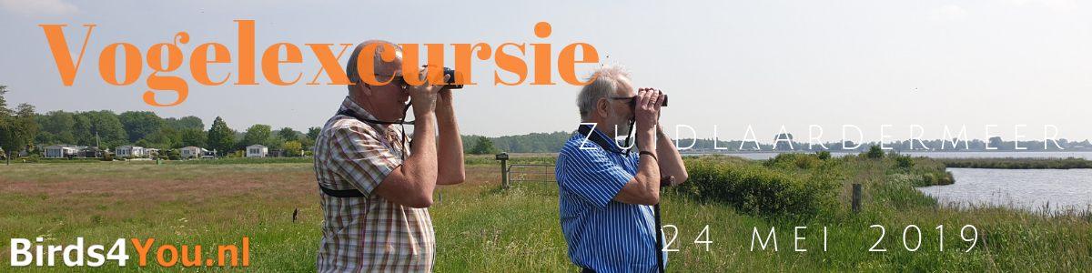 Verslag Privé vogelexcursie Zuidlaardermeer 24 mei 2019
