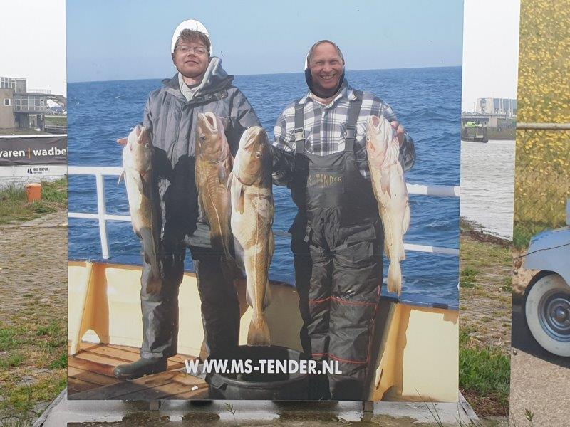 Deelnemers met vangst