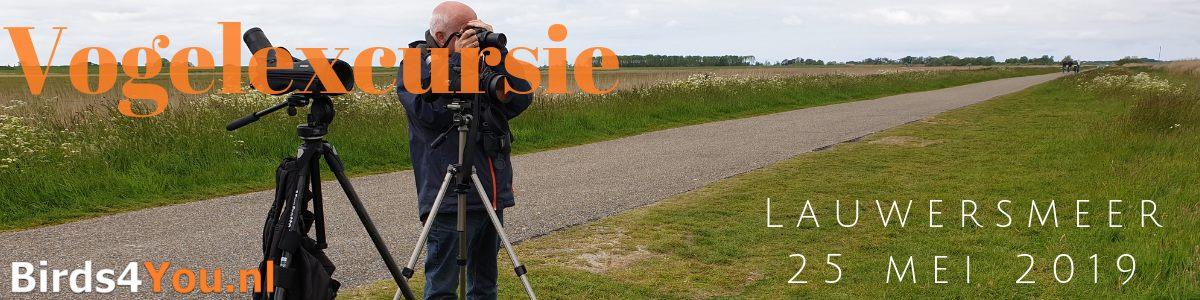 Vogelexcursie Lauwersmeer 25 mei 2019