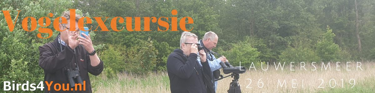 Vogelexcursie Lauwersmeer 26 mei 2019