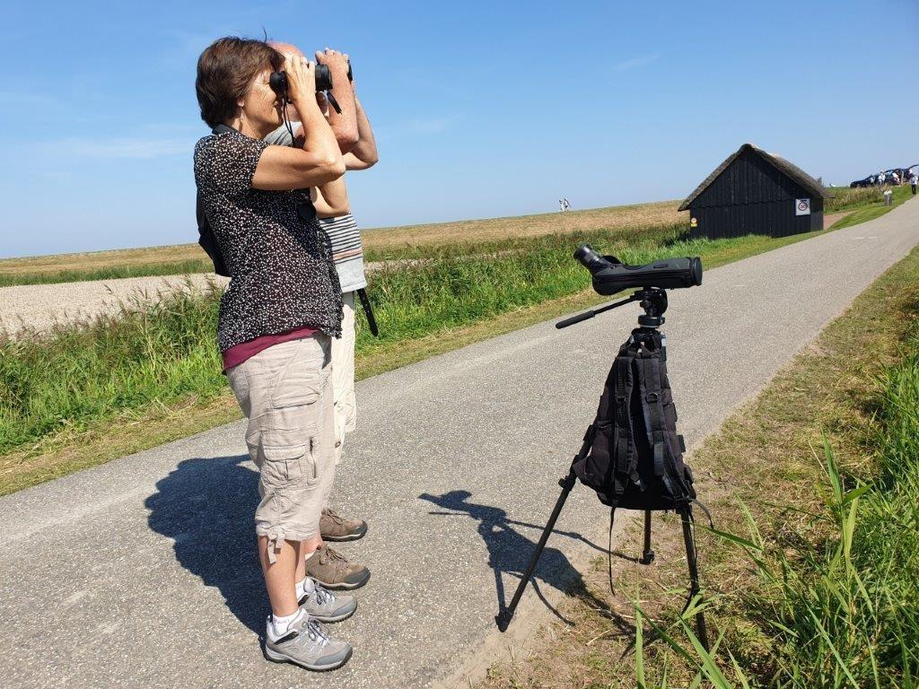 De deelnemers in de Bant polder