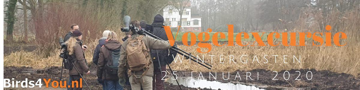 Vogelexcursie Wintergasten 2020