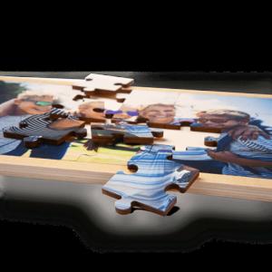 fotopuzzel hout