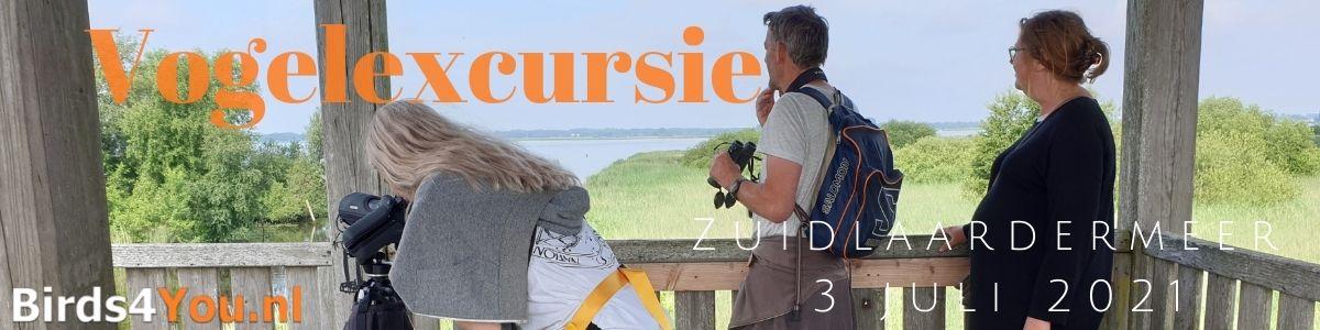 Vogelexcursie Zuidlaardermeer 3 juli 2021