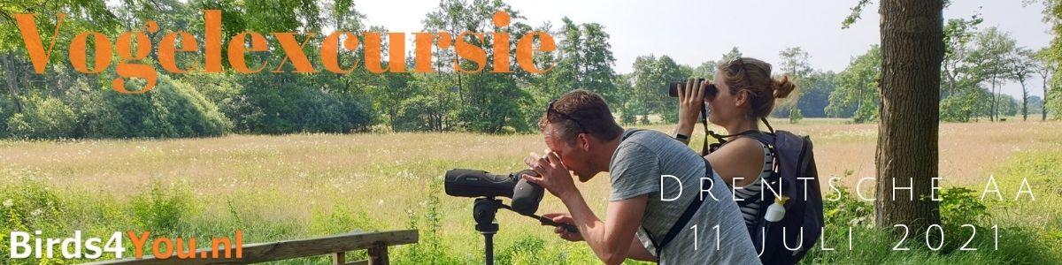 Vogelexcursie Drentsche Aa 11 juli 2021