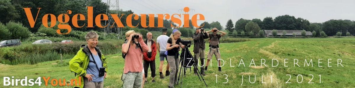 Vogelexcursie Zuidlaardermeer 13 juli 2021
