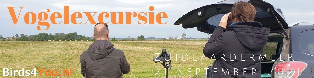 Vogelexcursie Zuidlaardermeer 21 September 2021