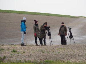 Andrea met groepje (foto door Irene)