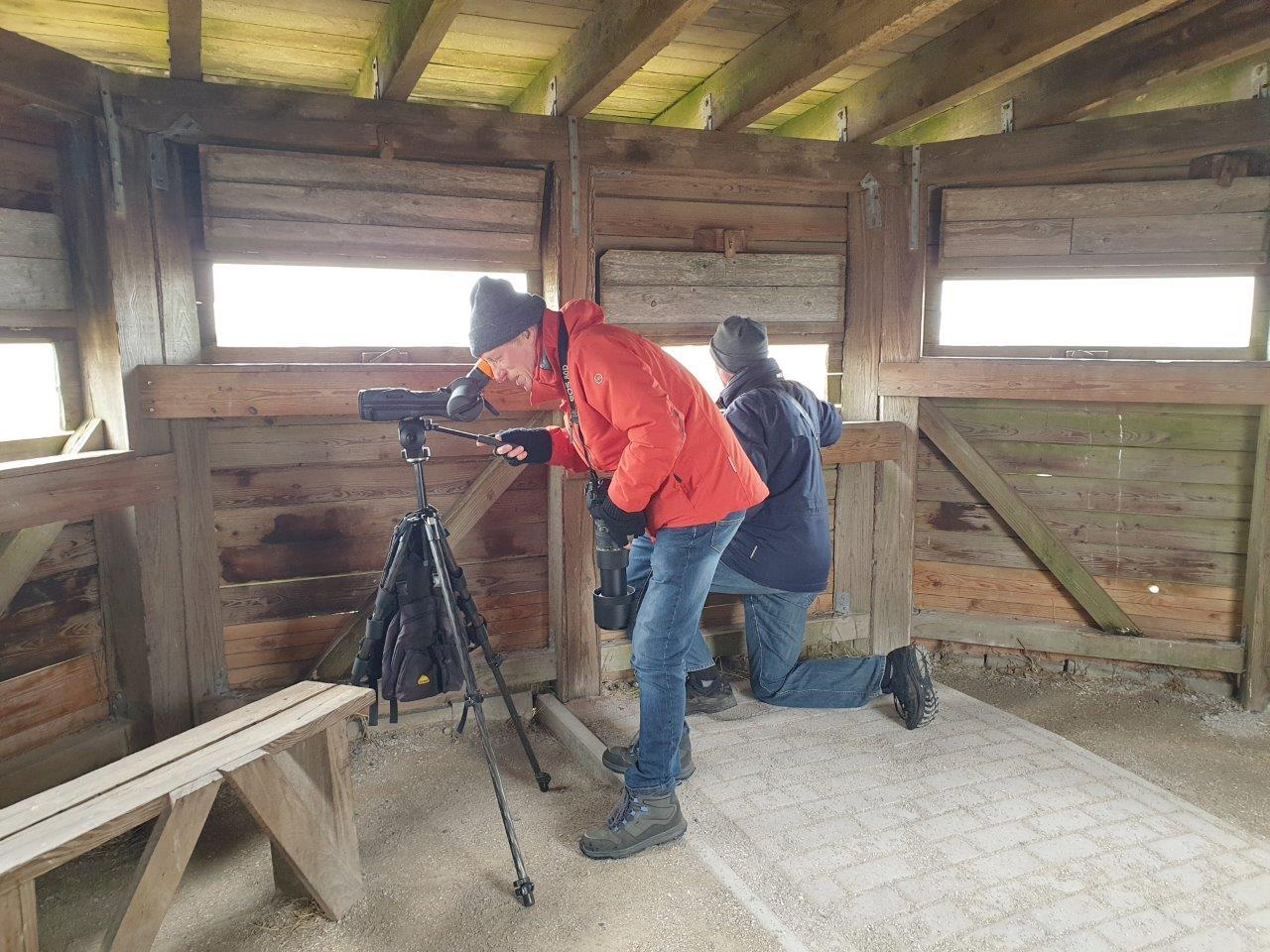 Vogelexcursie Broers in de hut