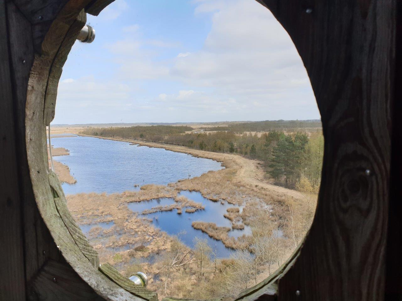Uitzicht vanuit de uitkijktoren