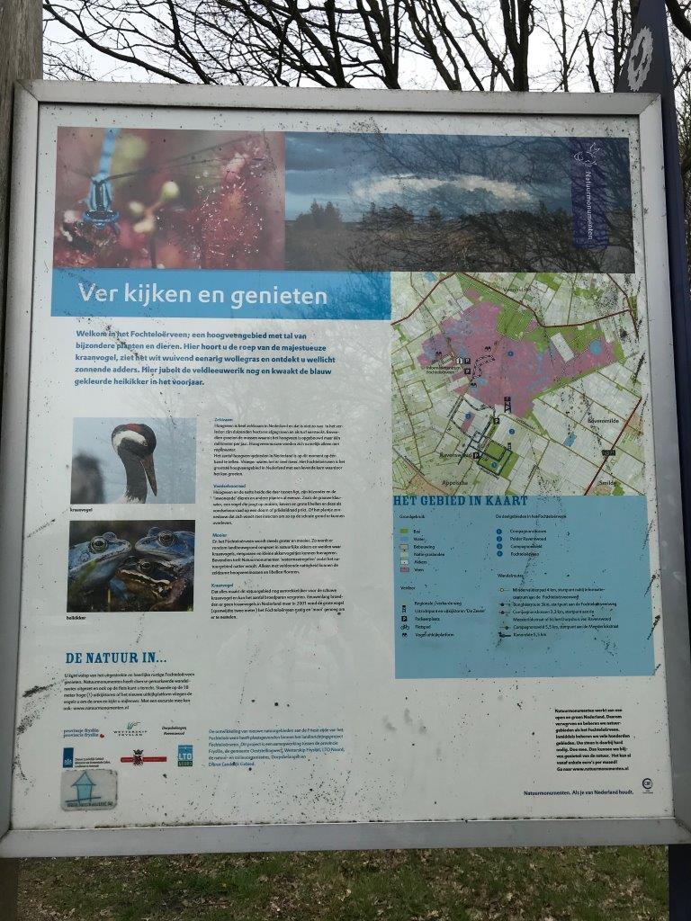 Informatiebord (foto door deelneemster)