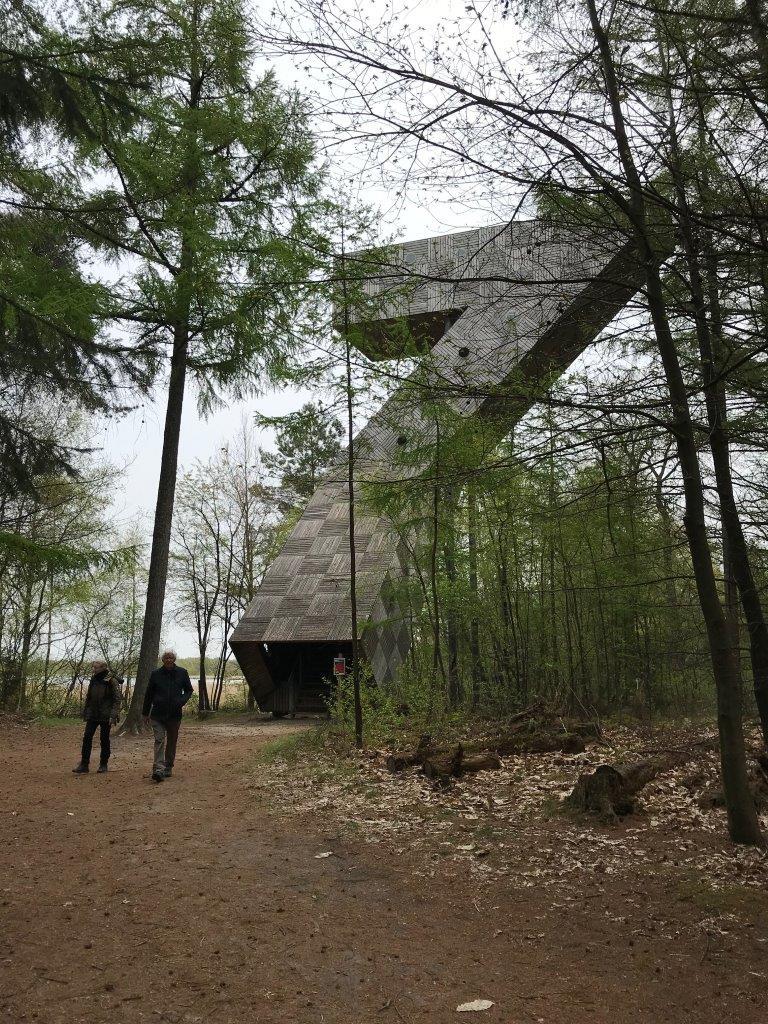 Uitkijktoren de 7 (foto door deelneemster)