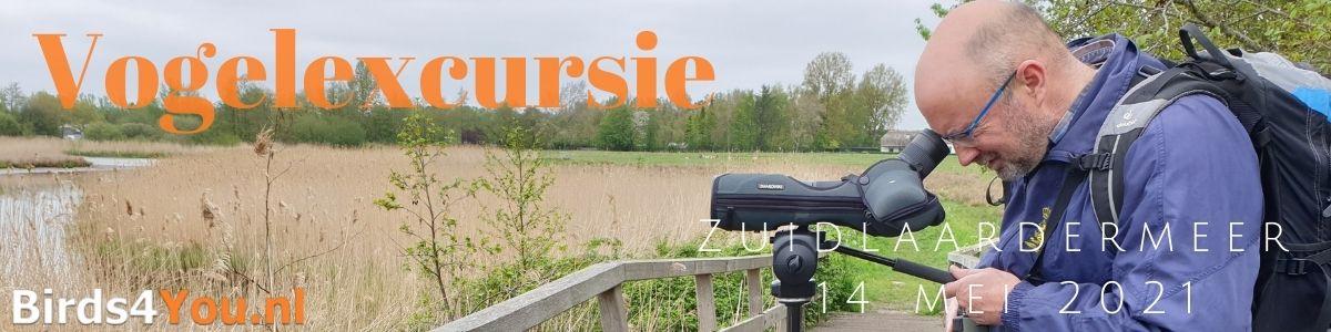 Vogelexcursie Zuidlaardermeer 14 mei 2021