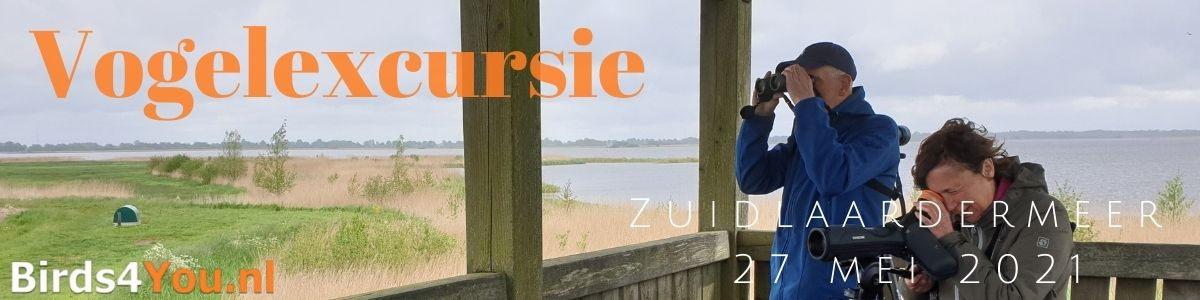 Vogelexcursie Zuidlaardermeer 27 mei 2021