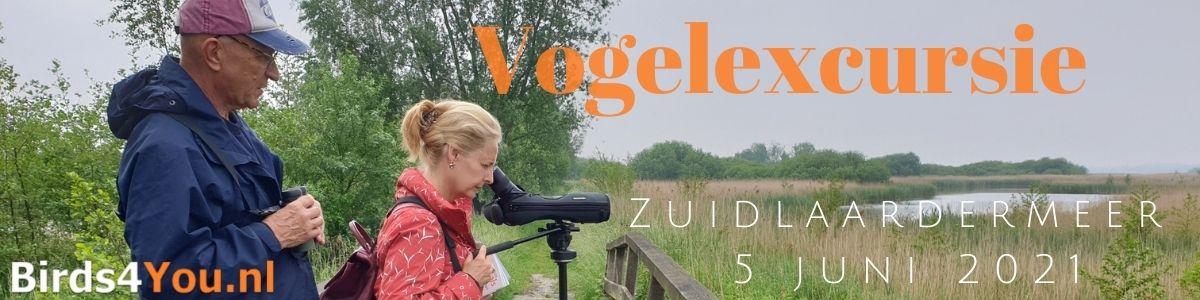 Vogelexcursie Zuidlaardermeer 5 juni 2021