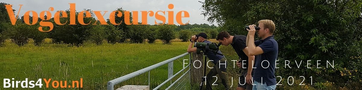 Vogelexcursie Fochteloërveen 12 juli 2021