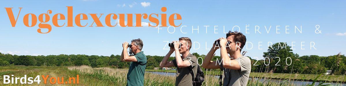 Vogelexcursie Fochteloerveen & Zuidlaardermeer 30 mei 2020