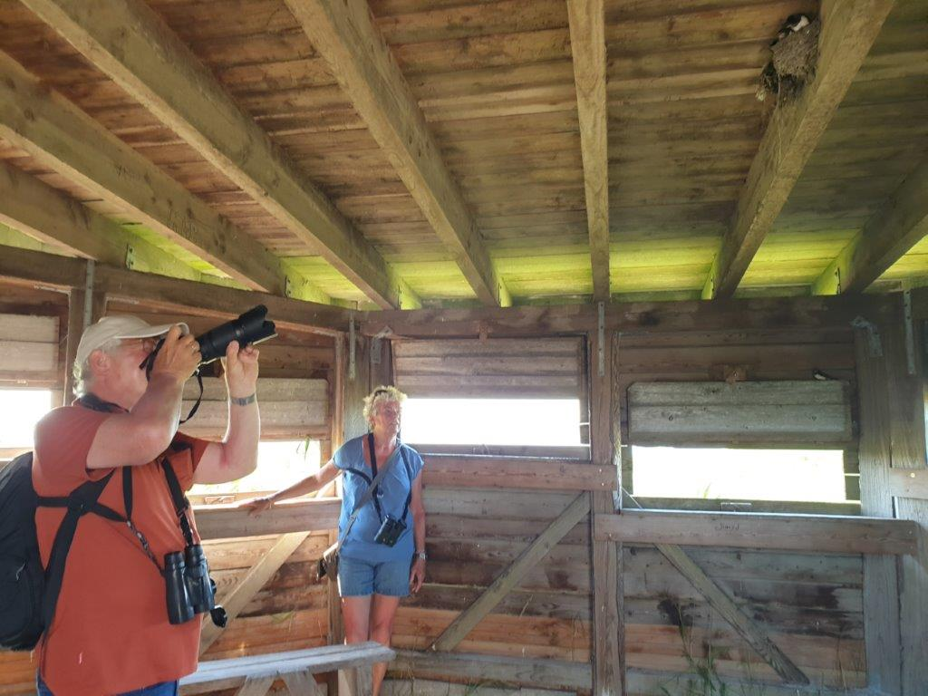 Fotograferen in de hut