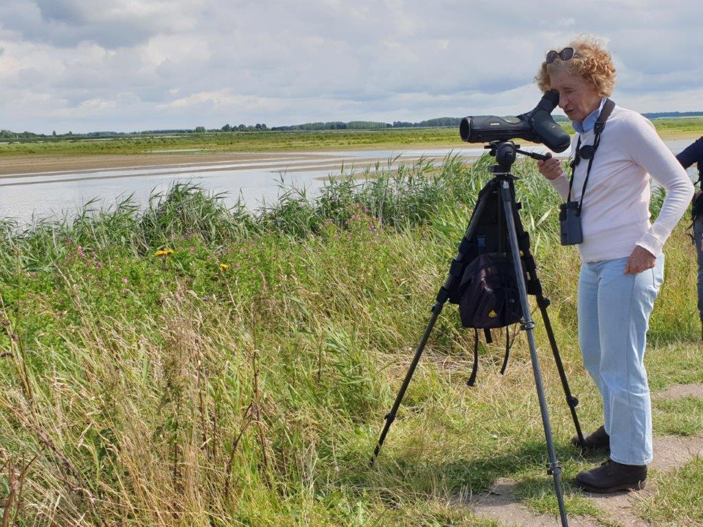 Kijken door de scope