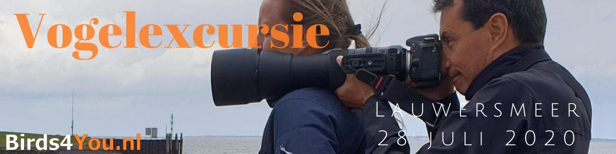 Vogelexcursie Lauwersmeer 28 juli 2020
