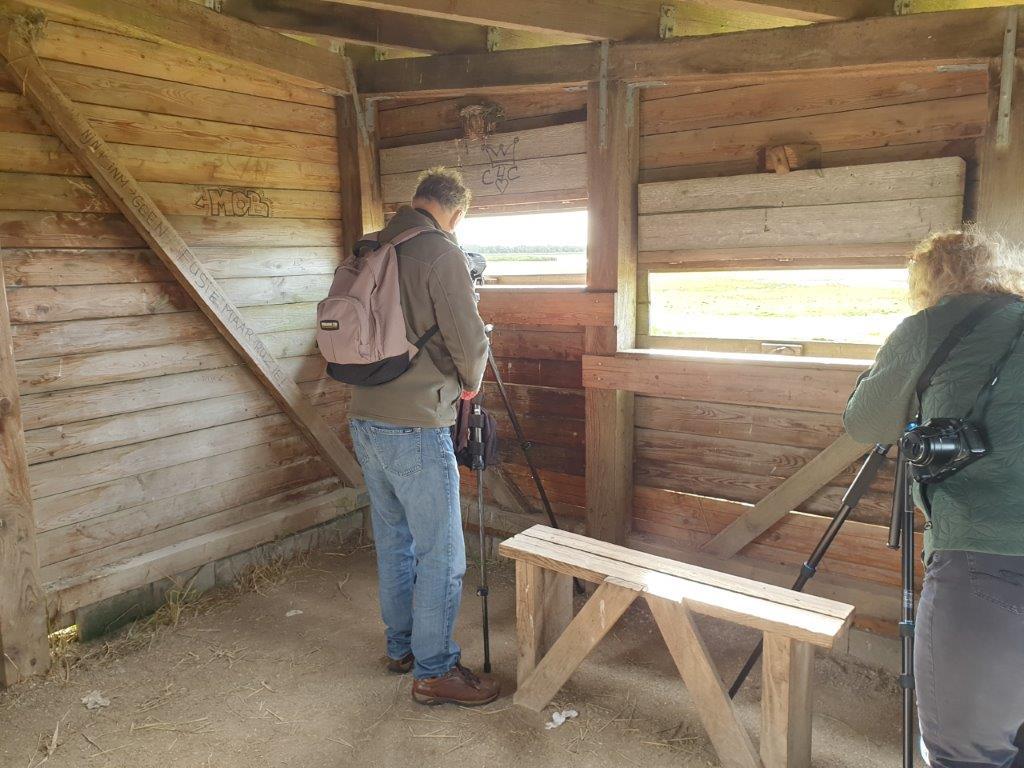 In de hut bij het Jaap Deensgat