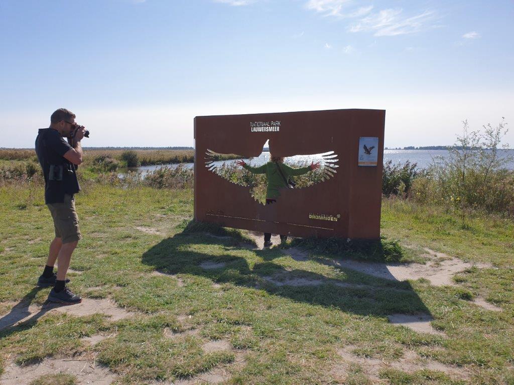 Een Zeearend is echt groot!