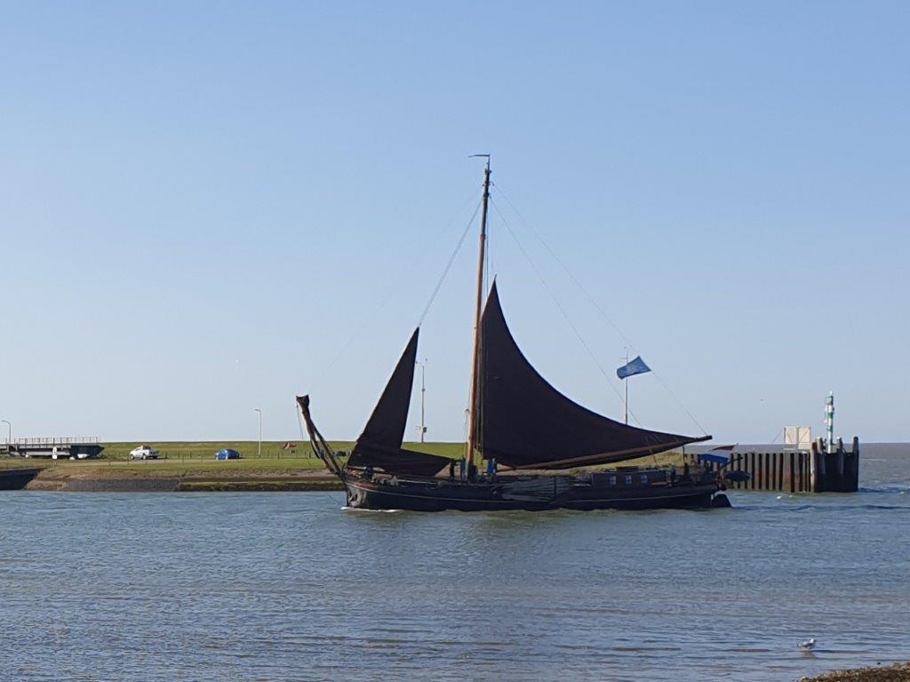 Boot dichterbij