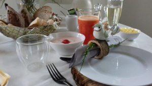 Ontbijt Bed and Breakfast Diependal